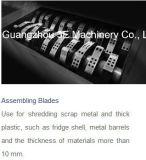가벼운 금속 슈레더 또는 얇은 금속 쇄석기 또는 금속 조각 Crusher/Gl61180 (금속 간격 3mm 이상)
