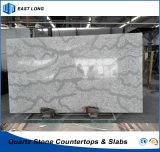 SGSのレポート及びセリウムの証明書(大理石カラー)が付いている固体表面のためのEnigneeredの水晶石の建築材料