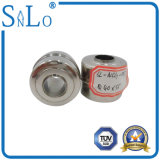 Edelstahl-Gleitbetriebs-Kugel 40*35*15.5 für waagerecht ausgerichtetes Anzeigeinstrument-magnetischen Abdeckstreifen