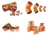 圧縮の真鍮の付属品の真鍮のティーの黄銅の肘