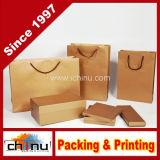 Compras Embalagem Papel de arte Gift Bag & Box