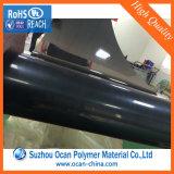 Il nero rigido lucido dello strato del PVC per stampa