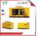 50Hz tipo silenzioso generatore diesel di 92kw 115kVA con il motore diesel di Cummins