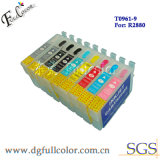 Cartucho de tinta recargables para Epson R800, impresora R1800.