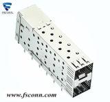 Zoccolo dello SFP della gabbia dello SFP del connettore dello SFP