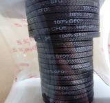 Emballage de graphite de la Chine Gfo PTFE pour le joint