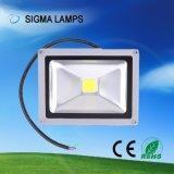 La sigma 20W 30W 50W 100W 150W IP65 impermeabiliza bulbos ligeros de la inundación LED de las lámparas 12V 24V 110V 127V 220V de la MAZORCA de SMD