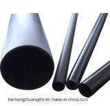 Tubo telescópico de la fibra del carbón de la alta calidad
