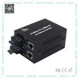 La alta calidad 10/100m Wdm 20km de fibra de Fast Ethernet RJ45 a Media Converter.