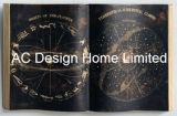 Arte di legno della parete di figura del libro dell'unità di elaborazione Leather/MDF dell'universo