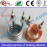 螺線形の電気暖房の管のヒーターの発熱体