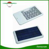 Lampe Emergency actionnée solaire de lampe de réverbère du type neuf 15 DEL de capteur de lumière d'éclairage de jardin de chemin d'endroit de mur extérieur solaire de lumière