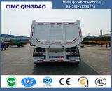 Tipper de Cimc 3-Axle Hyva queDespeja Semi o chassi do caminhão de reboque