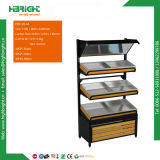 Supermarket Metal Fruit and Vegetable Display Rack