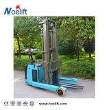Reach 1500kg fill Electric Counterbalance Forklift Stacker Price with Straddle put