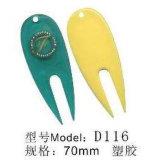 Outil en plastique de Divot de golf (D116)