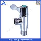 Подложных латунные клапаны в Taizhou угла поворота на заводе (ярдов-5025)