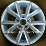 Bordas de alumínio da roda da liga do carro da réplica para Skoda