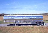 D'ADR de carburant de camion-citerne bas de page en aluminium semi
