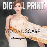 Вискоза Модала кашемира комбинированных тканей цифровой печати по различным видам транспорта