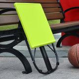 옥외를 위한 휴대용 접히는 플라스틱 테이블