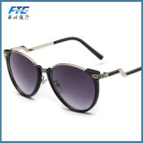 Vidros de Sun unisex dos óculos de sol da forma redonda de Eyewear da forma