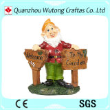 Статуи Gnome метки смолаы радушные для украшения сада
