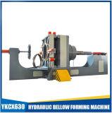Hidráulica de aço inoxidável flexível mangueira ondulada formando máquina