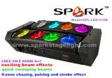 DJ 8*15W RGBW 4в1 светодиодный индикатор дальнего света