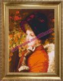 Numéro de la peinture huile sur toile de bricolage pour la salle de séjour