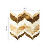 Azulejo de mosaico de encargo del vidrio manchado de la playa de la dimensión de una variable para la venta caliente