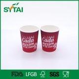 La buena taza modificada para requisitos particulares el más nuevo diseño del papel de empapelar de la ondulación de la impresión para las bebidas calientes