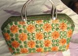 Bolsa de Handknitted placas(B4).