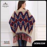 2017秋の冬の方法長い袖民族様式のセーター