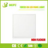 Luz plana delgada cuadrada de la luz de techo del panel del LED ningún parpadeo