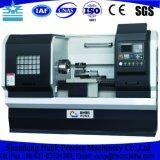 Tipo de pequeña máquina de torno CNC de horizontal a la venta Cknc6136