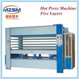Mz100t modelo hidráulico de muebles de madera de la máquina de prensa en frío la máquina