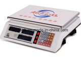 Alta escala automática del precio de la cocina de la carga de la precisión LED LCD