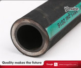 Manguito hidráulico 4sh/4sp del En 856 del estruendo con espiral del alambre de acero