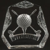 Crystal Clubs de Golf au Golf de souvenirs de la conception de pilotes