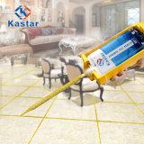 Malta liquida a resina epossidica di ceramica mescolantesi delle mattonelle di pavimento del nero impermeabile della stanza da bagno della porcellana