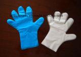 Nahrungsmittelärztliche Untersuchung TPE-Handschuh anstelle vom Vinylhandschuh