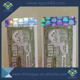 Het Stempelen van de douane 3D Hete Sticker van het Hologram met Streepjescode