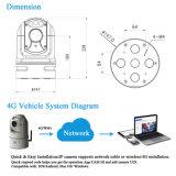 28X 1080P WiFi 4G HD en red PTZ portátil Cámara vehículo