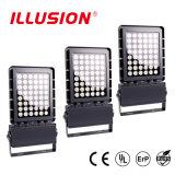 100Lm/w optimizados nuevamente lanzados 80-150W IP67 impermeabilizan la luz de inundación del LED