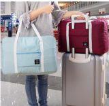 Mala de viagem 2018 homens de grande capacidade bagagem de mão-de-semana em nylon Duffle Viagem sacos sacos sacos de viagem mulheres multifuncional de 4 cores