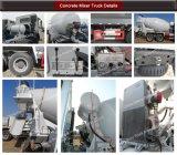 Sino camions 8x4 HOWO Bétonnière Prix du chariot