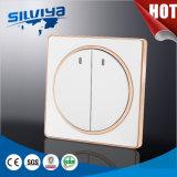 Gruppe-elektrischer Wand-Einwegschalter der Qualitäts-zwei
