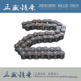 Usine professionnelle de chaîne de moto de chaîne de rouleau de vente de constructeur chaud de bonne qualité directe