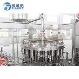 Vaso de zumo de naranja fruta automático de la línea de producción que hace la máquina